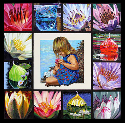 Discovering The Beuty Of The Lily Original by John Lautermilch