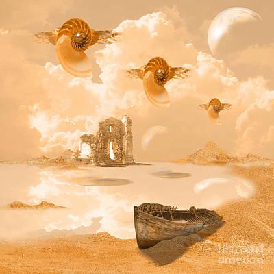 Digital Art - Discovery by Alexa Szlavics