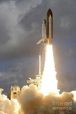 Photograph - Discovery Launch by Nasa