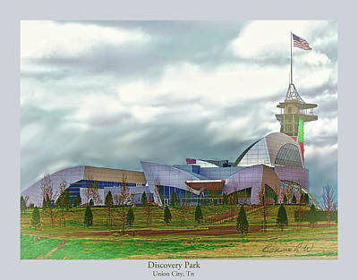 Digital Art - Discovery Park  by Bonnie Willis