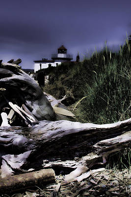 Seattle Photograph - Discovery Park Lighthouse by David Patterson