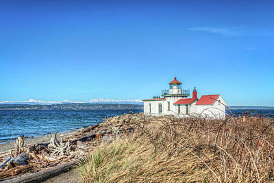 Photograph - Discovery Park Lighthouse by Spencer McDonald