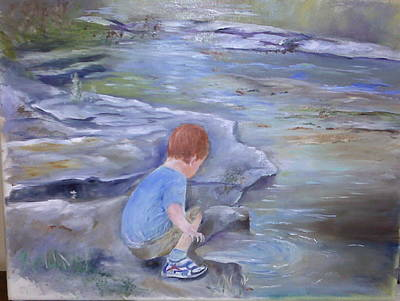 Discovery Art Print by Vickie Shelton