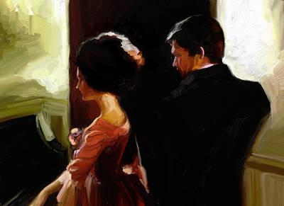 Discreet Whisper Art Print by Stuart Gilbert