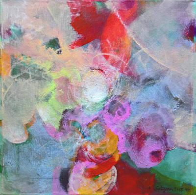 Painting - Discreet Woman by Mira Satryan