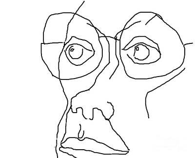 Disdain Art Print by Richard Strana