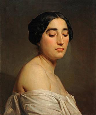 Disdain Painting - Disdain by William-Adolphe Bouguereau