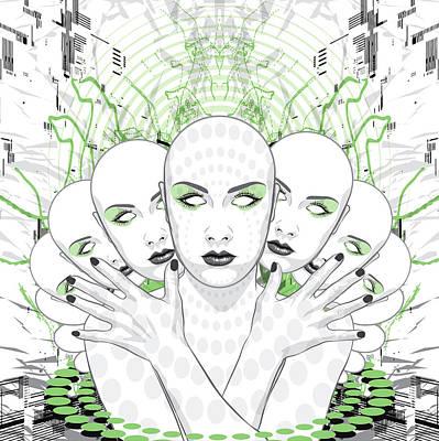 Digital Art - Disguise by Jason Casteel