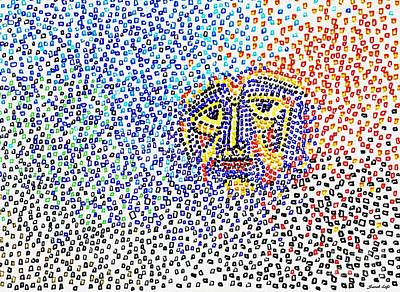 Drawing - Disintegration by Sarah Loft