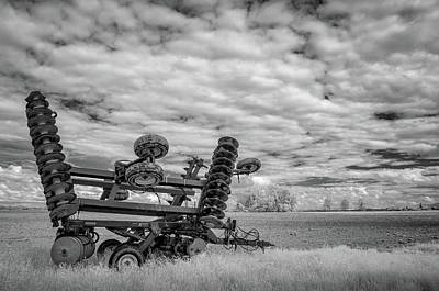 Photograph - Disk Harrow by James Barber