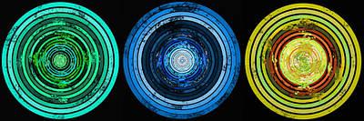 Digital Art - Circularity by SC Heffner