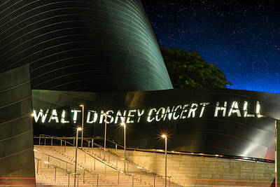 Photograph - Disney Concert Hall Entrance by Robert Hebert