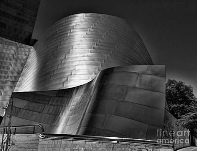 Chuck Kuhn Photograph - Disney Concert Hall IIi by Chuck Kuhn