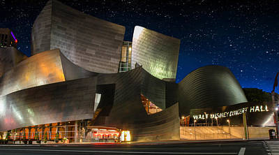 Disney Concert Hall Art Print