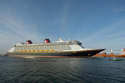 Photograph - Disney Dream Escorted by Bradford Martin