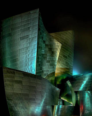 Photograph - Disney Hall by Endre Balogh