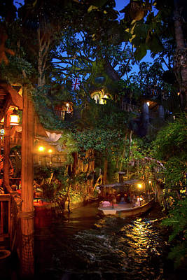 Photograph - Disney Jungle Cruise by Mark Andrew Thomas
