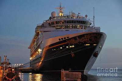 Photograph - Disney Magic At Night by John Black