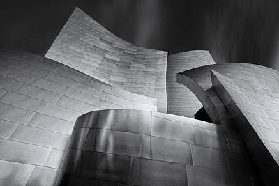 Disney Photograph - Disney Music Hall by Steve Buffington