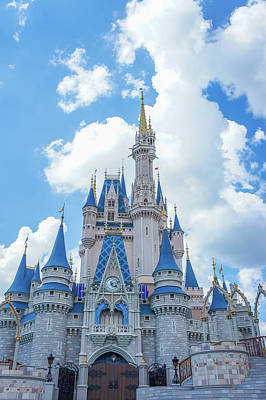 Disney Princess Castle Art Print