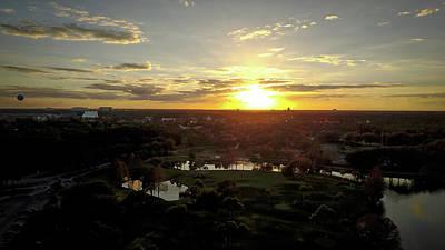Photograph - Disney Sunset by Michael Albright