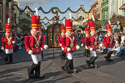 Photograph - Disney  Toy Soldiers On Parade by Charles  Ridgway