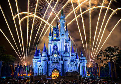 Photograph - Disney World by Anna Rumiantseva
