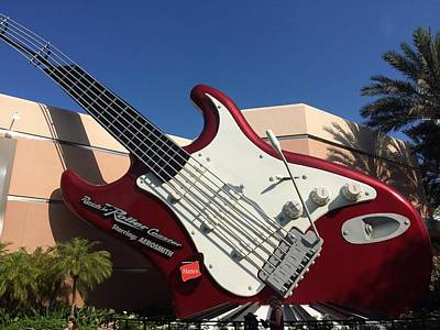 String Instrument Wall Art - Photograph - Disney World by Jackie Russo