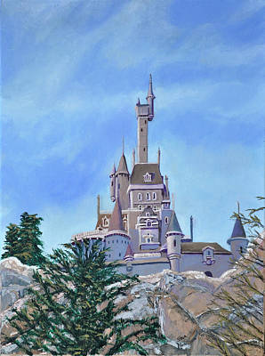 Painting - Disney World by Stan Hamilton