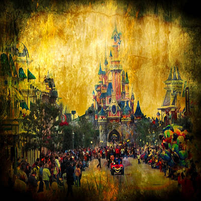Fairy Digital Art - Disney World by Svetlana Sewell