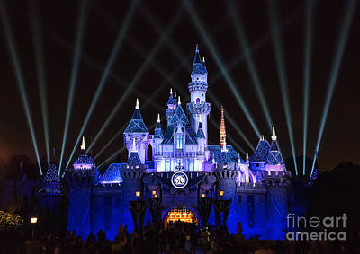 Photograph - Disneyland Diamond Celebration by Eddie Yerkish