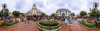 Photograph - Disneyland Panoramic by Jerome Obille