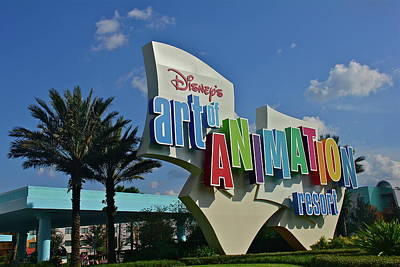 Photograph - Disney's Art Of Animation Resort by Denise Mazzocco