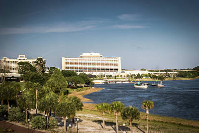 Photograph - Disney's Contemporary Resort by Sara Frank