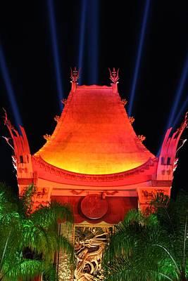 Disney Photograph - Disney's Grauman's Chinese Theater by Stuart Rosenthal