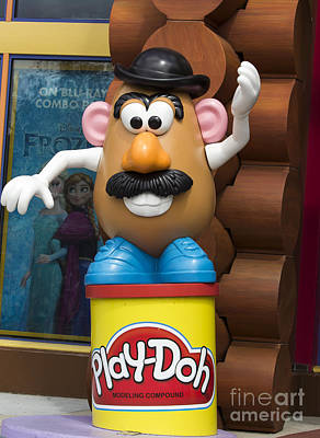 Bo Peep Photograph -  Mr Potato Head Character by Joys Photography