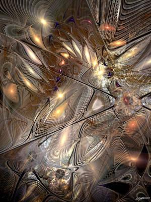 Disorderly Relativistic Interpretations Art Print by Casey Kotas