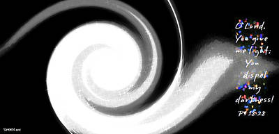 Digital Art - Dispel Darkness by Christine Nichols