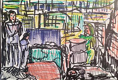 Displaced Family Original