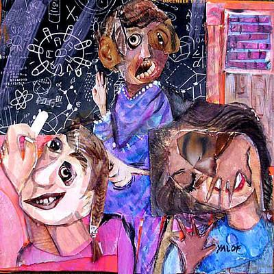 Mixed Media - Disruption by Barbara Yalof