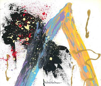 Disruption Interruption Art Print by Helene Henderson