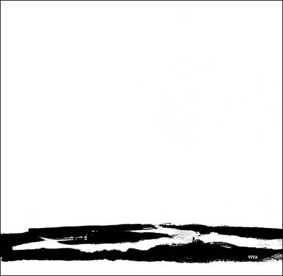 Painting - Dissimulation B-w by VIVA Anderson