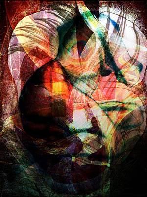 Digital Art - Dissolution 16 by Helene Kippert