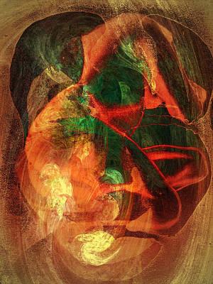 Digital Art - Dissolution 19 by Helene Kippert
