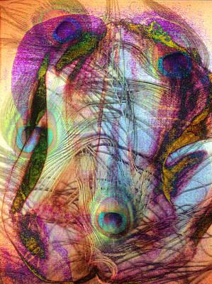 Digital Art - Dissolution 22 by Helene Kippert