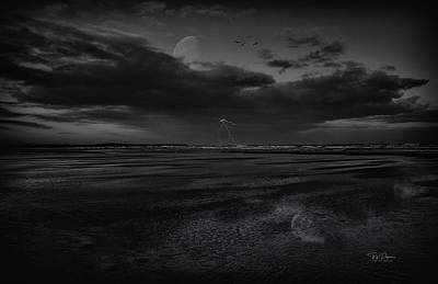 Photograph - Distance Storm by Bill Posner