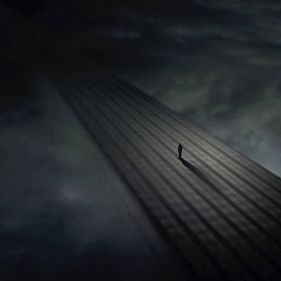 Architecture Digital Art - Distance by Zoltan Toth