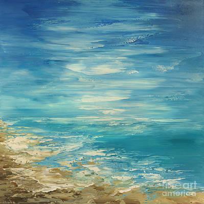 Painting - Distant Deluge by Tatiana Iliina