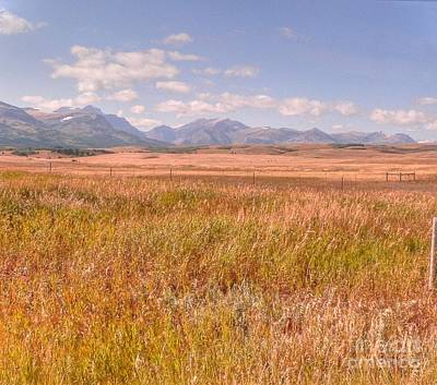 Photograph - Distant Distant Mountains by David Bearden