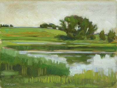 Painting - Distant Farm by Kim Gordon